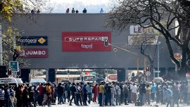 Riots Break out in South Africa's Capital