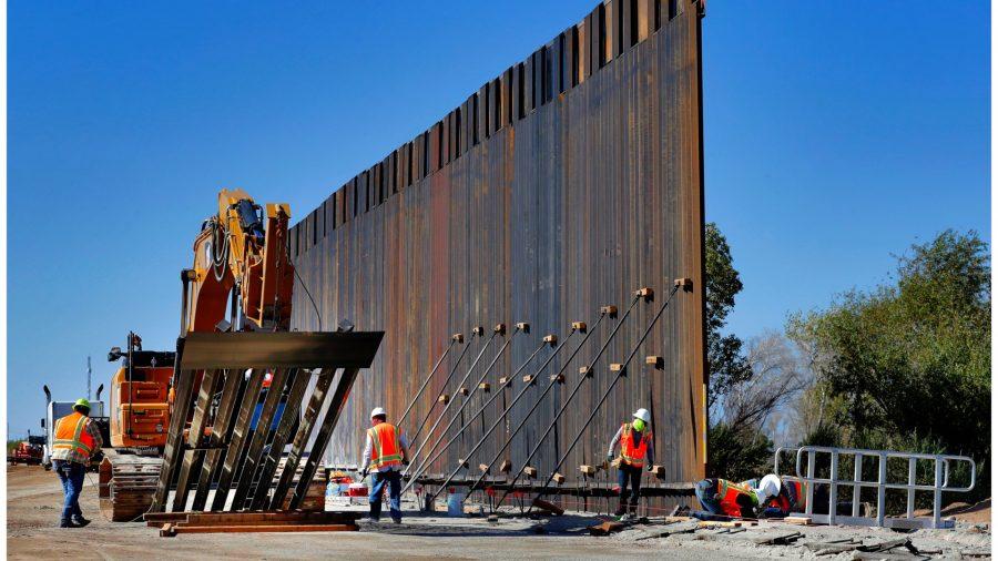 Texas, Missouri AGs Sue Biden Admin to Resume Border Wall Construction