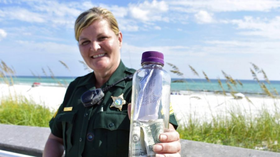 Bottle With Man's Ashes Resumes Journey in Gulf of Mexico