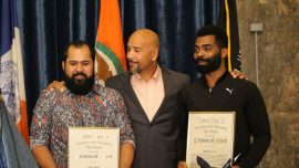 Bronx President Celebrates Two Heroes Who Rescued a 5-Year-Old From Under the Train