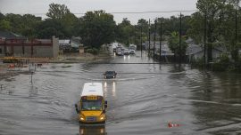 Texas High School Student Saves Woman, Child Stuck in Imelda Floodwaters