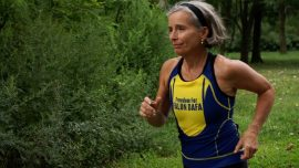 Age Doesn't Stop Her Running for a Cause