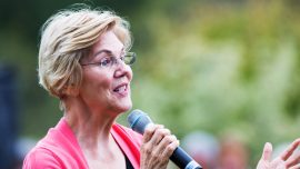Warren Buys Lemonade From Two Girls: They Donated The Money To The March For Life