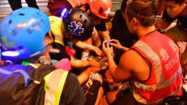 14-Year-Old Shot, Reportedly by Off-Duty Police Officer, During Hong Kong Clashes