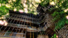 97-Foot Tall 'Minister's Treehouse' in Tennessee Burns Down in Minutes