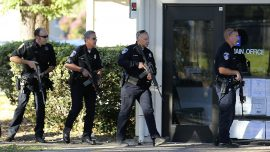 Possible Suspect in Shooting Near California School Caught
