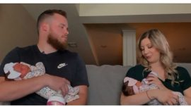 What Are the Odds? Twin Has Twin Daughters Born on His Birthday