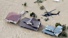 19 Dead, Dozens Missing After Fierce Typhoon Pounds Tokyo