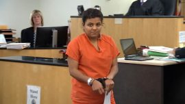 Woman Accused of Kidnapping Daughter, Fleeing to Mexico Booked Into Clark County Jail