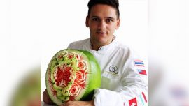From Fisherman to World Champion Fruit Carver