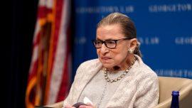 Justice Ruth Bader Ginsburg Hospitalized: US Supreme Court
