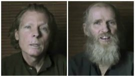 Freed American, Australian Hostages Receive Medical Treatment at US Base in Germany