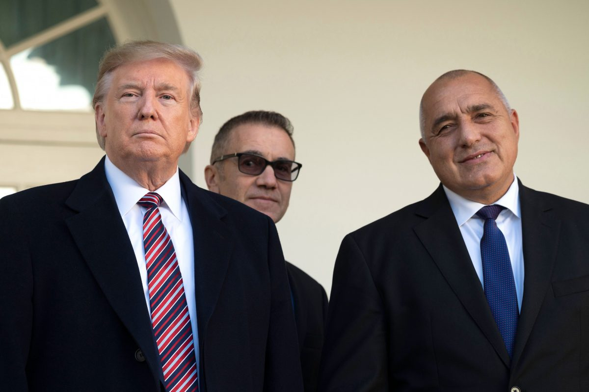 Trump speaks with Bulgarian Prime Minister
