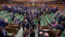 British Lawmakers Elect New House of Commons Speaker and 'Drag' Him to the Chair