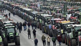 Massive Protests as German Farmers Decry Stringent Regulations