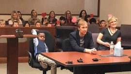 5-Year-Old Boy's Entire Kindergarten Class Show Up for His Adoption Hearing