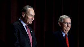 Schumer Wants Mulvaney, Bolton to Testify in Senate Impeachment Trial