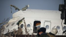 Plane Crashes After Takeoff in Kazakhstan, 12 Dead, Dozens Injured
