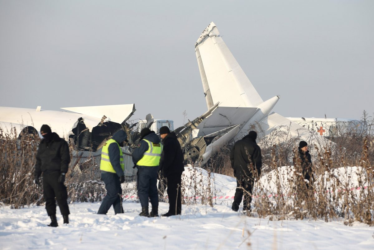 Kazakhstan crash