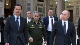 Unidentified Planes Strike Iran-Backed Iraqi Militiamen in Syria, Killing 8