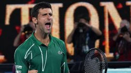 Djokovic Adds to Slam Streak vs. Federer at Australian Open