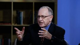 'No Crime There, Period': Alan Dershowitz Says Trump Phone Call Taken out of Context
