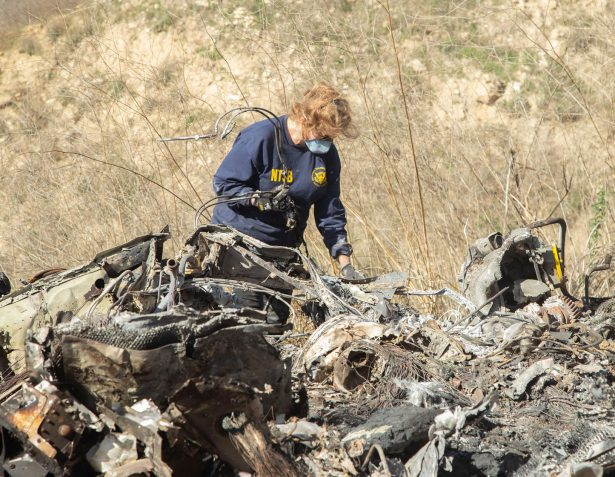Kobe Bryant Helicopter Crash Site