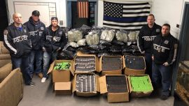 NYPD Seizes 275 Pounds of Pot in Huge Drug Bust