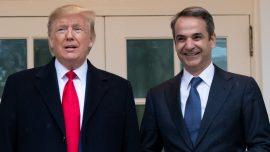 Trump Meets With Greek Prime Minister to Discuss Strategic Cooperation and Security