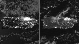 Satellite Images Show How Dark Puerto Rico Is at Night After Earthquakes Caused Power Outages