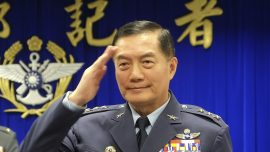 Military Chief Among Eight Dead in Taiwan Helicopter Crash