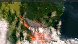 Australia's Bush Fire Smoke Will Travel Around the World, NASA Says