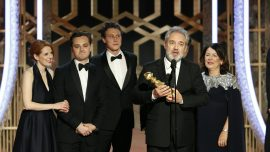 '1917,′ 'Once Upon a Time… in Hollywood' Win Golden Globes