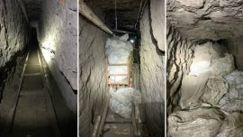 Exclusive: An Inside Look at Border Trafficking Tunnels