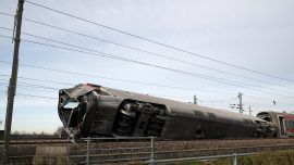 High-Speed Train Derails in Italy; 2 Railway Workers Killed