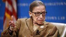 Justice Ruth Bader Ginsburg Announces She's Receiving Treatment for Liver Cancer