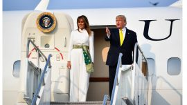 Melania Trump Dons Attire Inspired by Early 20th Century Indian Textiles