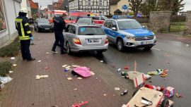 German Car Driver Plows Into Children's Carnival Parade Injuring Over 50