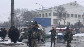 Suicide Bomber Kills 6 People in Afghan Capital
