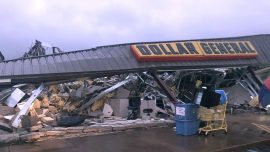 Possible Twister: Damage Reported at Mississippi-Alabama Line