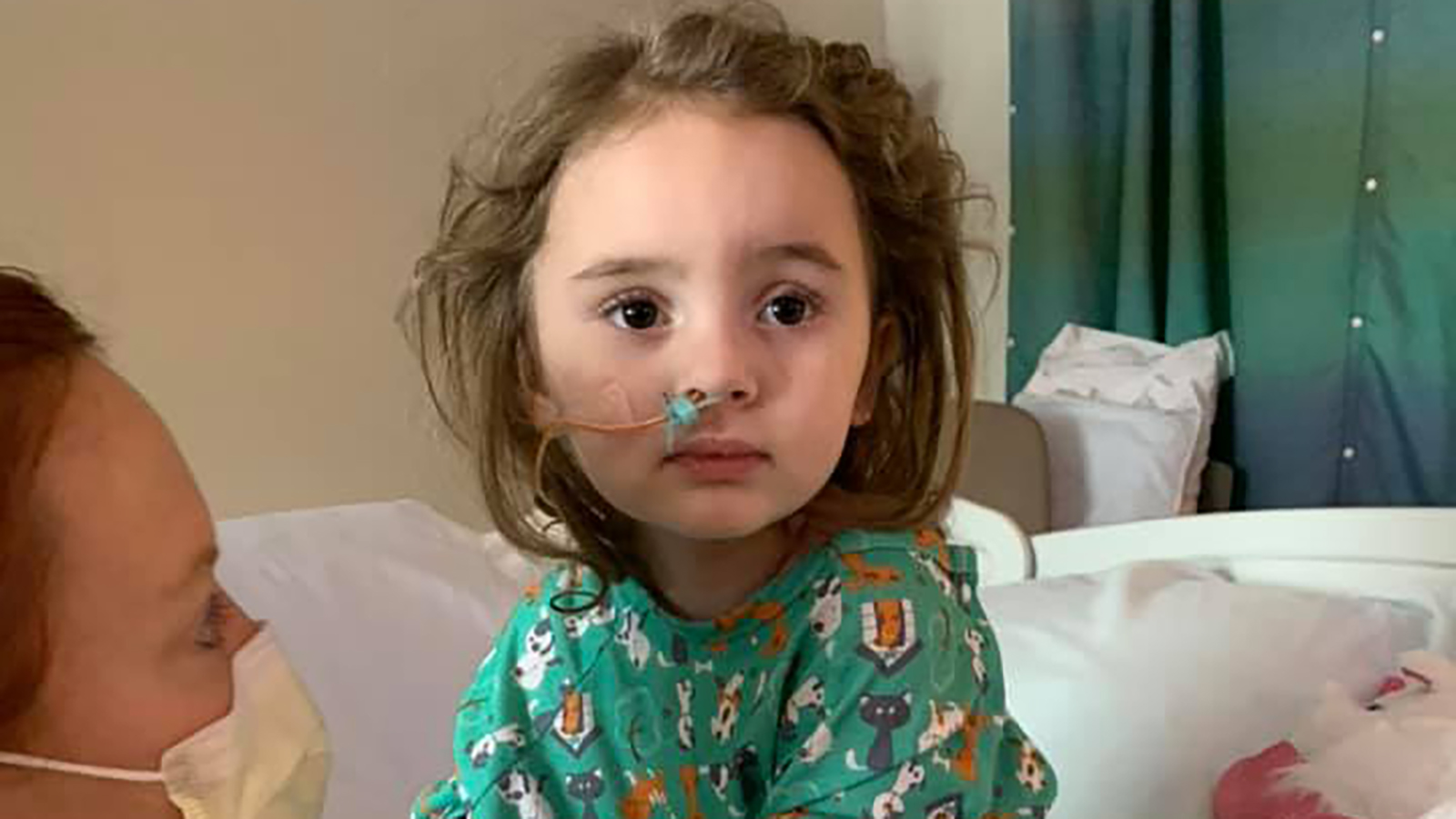 Iowa Girl Regains Eyesight After Losing Vision Due to Flu Complications