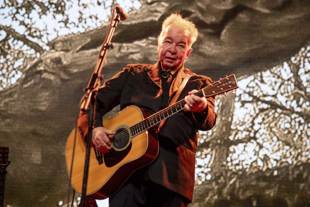 John Prine performs at the Bonnaroo Music and Arts Festival in Manchester,
