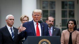 Trump Declares Sunday A National Day Of Prayer Over Coronavirus Pandemic