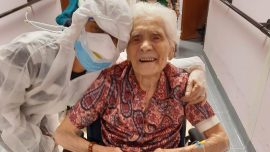 103-Year-Old Italian Says 'Courage, Faith' Helped Beat CCP Virus