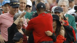 Tiger Woods' Last Masters as Much About Family as a Green Jacket