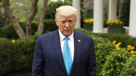 Trump Wishes Americans 'Happy Easter,' Urges Social Distancing to Get Rid of 'The Plague'