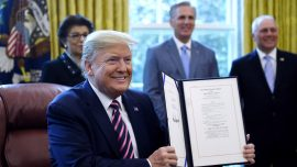 Trump Signs Bill With Nearly $500 Billion More in CCP Virus Aid