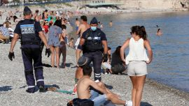 Europe Struggles to Deal With Tourists at Beaches as Temperatures Rise