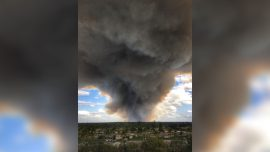 Florida Wildfires in Naples Area Force Evacuations, Temporarily Closes Interstate 75