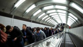 As in 1918, New York May Use Staggered Work Hours to Keep Subway Safe
